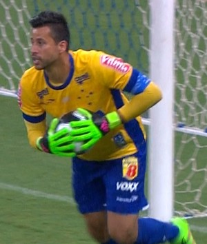 Fábio lamenta derrota no final, mas acredita que chute de Bryan foi indefensável (Foto: Reprodução / TV Globo Minas)
