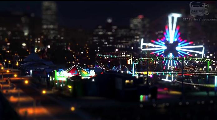 GTA 5: Vídeo deixou Los Santos com aspecto de miniatura (Foto: Reprodução/YouTube)