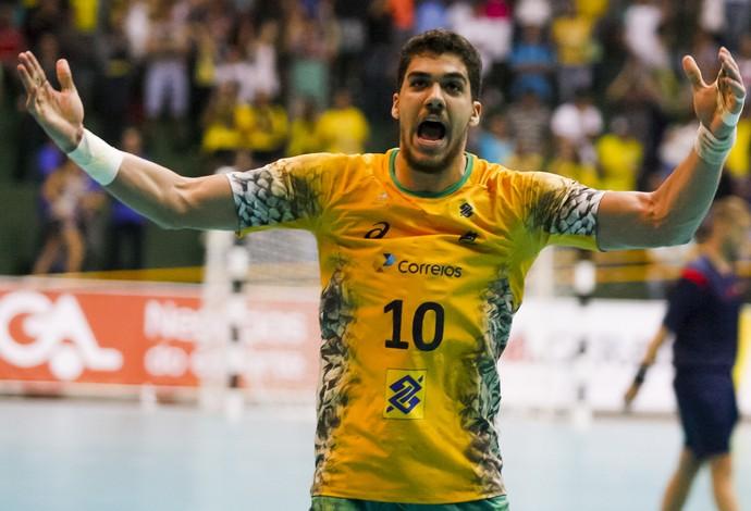 Zé Toledo seleção brasileira handebol júnior (Foto: Alexandra Motta)