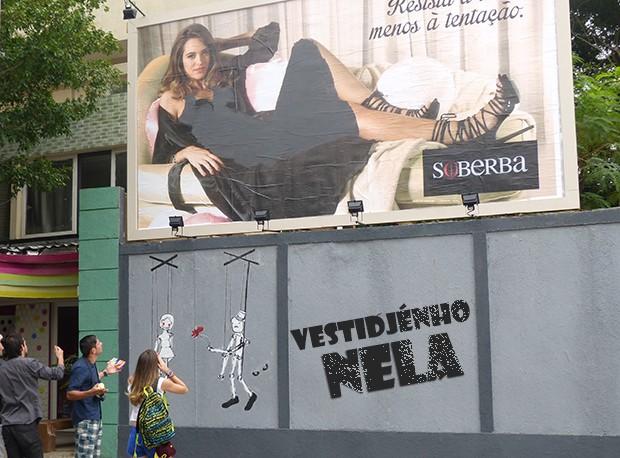 Vestidjénho nela!!! (Foto: Malhação / TV Globo)