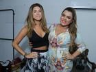 Fernanda Paes Leme vai a show de Preta Gil no Rio
