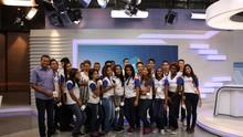 Globo Minas recebeu mais de 1,2 mil estudantes em 2016 (tv globo )