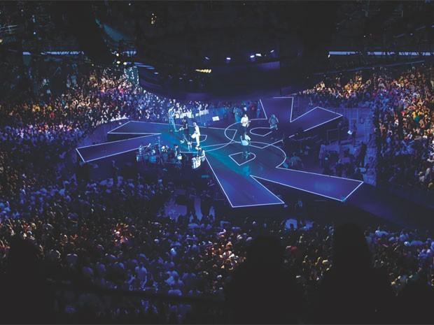 Show do grupo Revelação da turnê 360º (Foto: Divulgação)