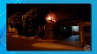 Família teve casa destruída em incêndio em bairro de Campo Grande