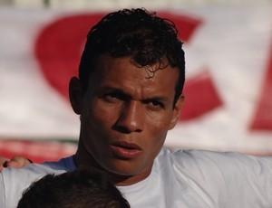 Etinho, atacante do Coruripe (Foto: Leonardo Freire/GloboEsporte.com)