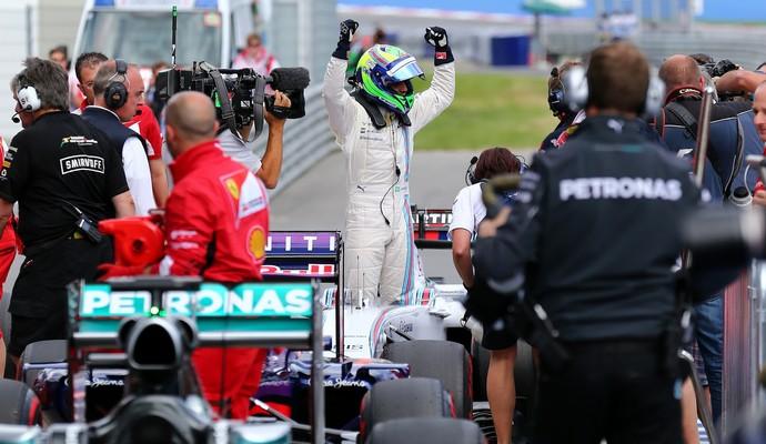 Em 2014, Felipe Massa desbancou as Mercedes e conquistou sua última pole até o momento (Foto: Getty Images)