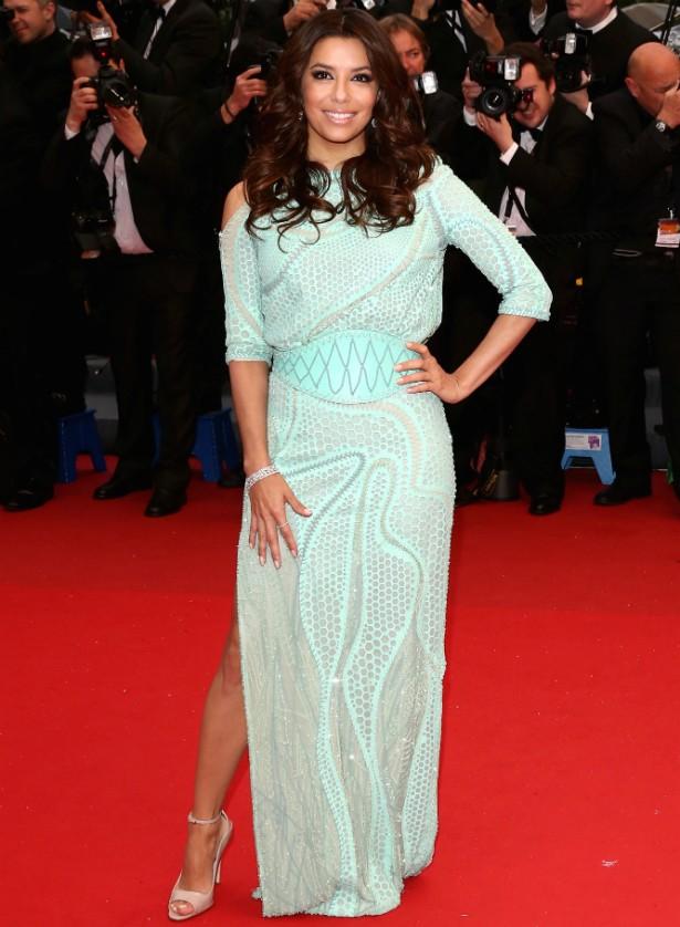 Eva Longoria no Festival de Cannes em 2013. (Foto: Getty Images)