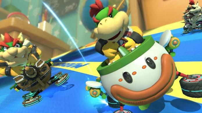 Mario Kart 8 Deluxe volta a permitir o uso de itens duplos (Foto: Divulgação/Nintendo)