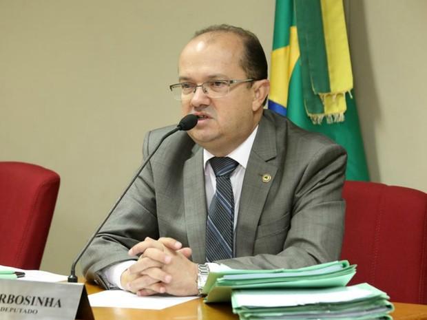 Deputado estadual de MS Barbosinha (PSB) (Foto: Victor Chileno/ALMS)