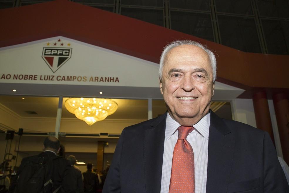 Presidente Leco define nomes da nova diretoria, de acordo com regras do estatuto do São Paulo (Foto: Uriel Punk/Futura Press)