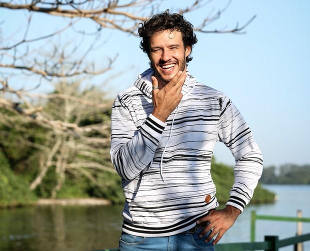 Nando Rodrigues: ator vai estar em breve em filme francês (Foto: Gabriel Félix / Divulgação)