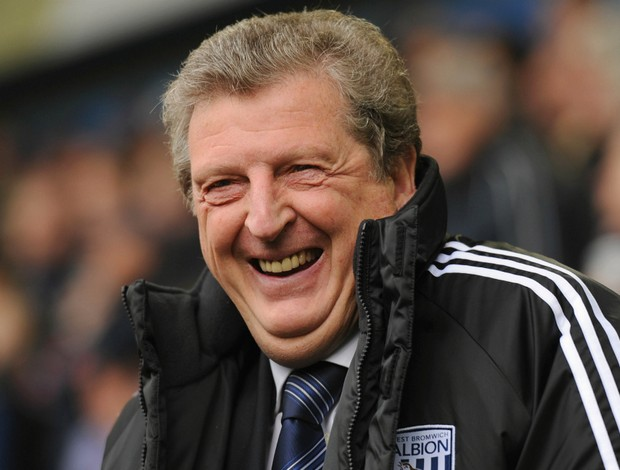 Roy Hodgson é o atual técnico do West Bromwich (Foto: Getty Images)