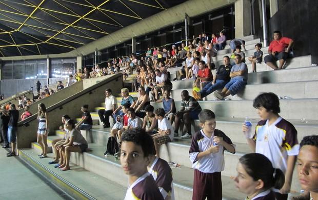 Torcida, Copa TV Tribuna futsal (Foto: Antonio Marcos)