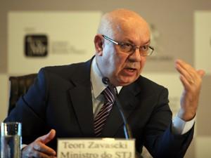 O ministro do STJ Teori Albino Zavascki (Foto: Agência CNJ)