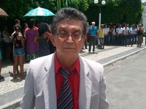 Pirmo de Déda fala da infância e da política  (Foto: Flávio Antunes/G1)