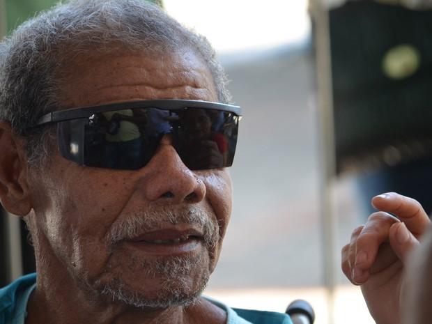 Domingos Santana recuperou a visão com projeto Voluntários do Sertão, de Ribeirão Preto (Foto: Rodolfo Tiengo/G1)