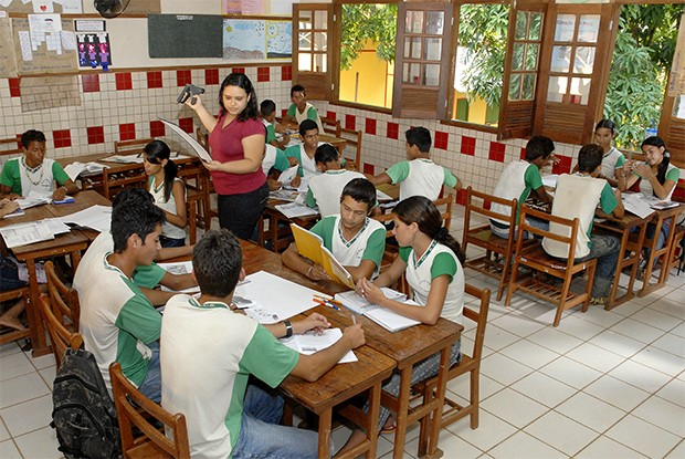 Galeria 1 - Acre - Poronga Escola Clínio Brandão - Rio Branco (Foto: Guanabaratejo)