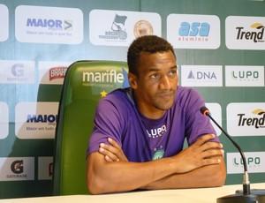 Júlio César Guarani Bugre (Foto: Warley Menezes / Guarani FC)