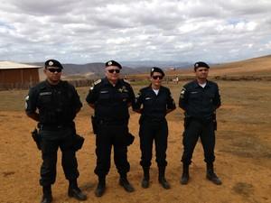 Equipe que se acidentou em Uiramutã (Foto: Arquivo pessoal)
