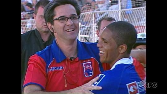 Há 10 anos, Caio Júnior fazia história e levava o Paraná Clube à Libertadores