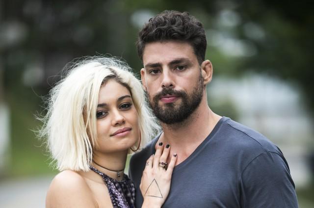 Sophie Charlotte e Cauã Reymond em 'Ilha de ferro' (Foto: João Miguel Júnior/ TV Globo)
