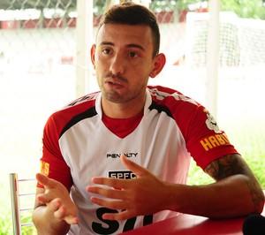 Marcelo Cañete meia do São Paulo (Foto: Marcos Ribolli / Globoesporte.com)