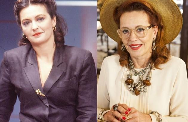 Maria Zilda Bethlem era Ângela, moça apaixonada por Tonhão. A atriz esteve no elenco de 'Êta mundo bom!' (Foto: Reprodução)