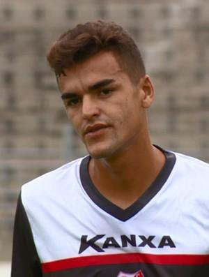 Gutierrez zagueiro Capivariano (Foto: Reprodução / EPTV)