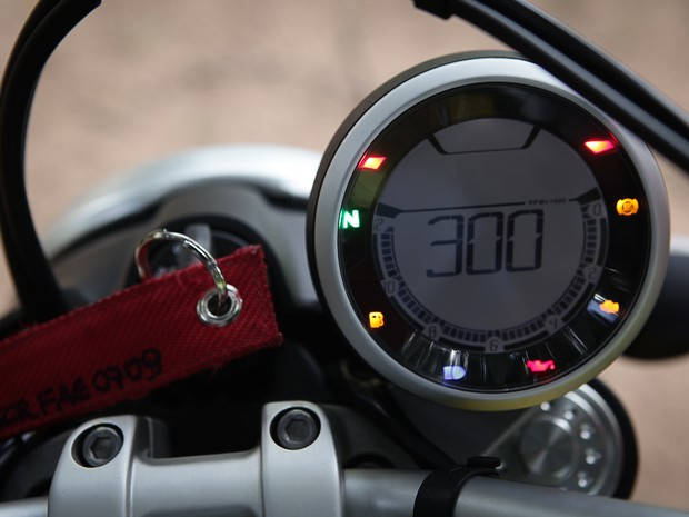 Ducati Scrambler (Foto: Caio Kenji / G1)