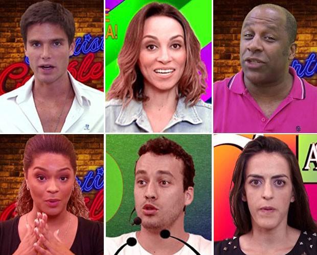 Famosos fazem paródia de horário político (Foto: Reprodução / TV Globo)