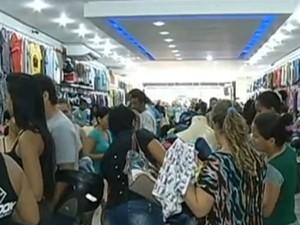 Alta no emprego em Marabá foi impulsionada por comércio e serviços (Foto: Reprodução / TV Liberal)