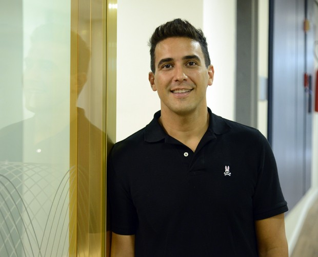 André Marques conta o que mudou depois dos 70kg a menos (Foto: Raphael Dias / Gshow)
