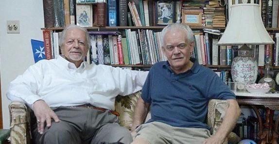 Nino (à esquerda) e Roland