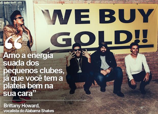 Britanny Howard, vocalista dos Alabama Shakes (Foto: Divulgação)
