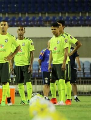 Seleção olímpica Brasil (Foto: Itawi Albuquerque/CBF)