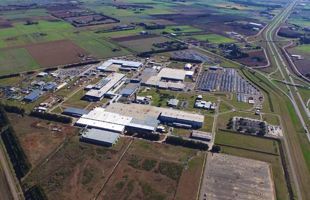 Fábrica da GM em Alvear, na província de Santa Fé, na Argentina (Foto: Divulgação)