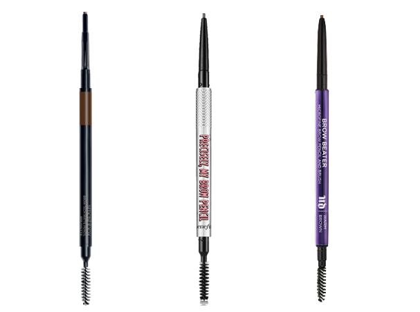 Brow Tech Matte Stick cor Brunette, R$ 129, Smashbox; Precisely, My Brow Pencil, R$ 129, Benefit; Brow Beater, R$ 119, Urban Decay (Foto: Divulgação)