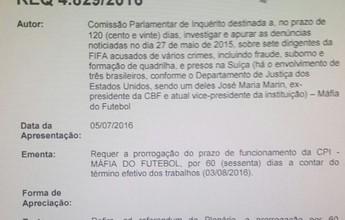 BLOG: Waldir Maranhão estendeu CPI do Futebol, mas revogou no dia seguinte