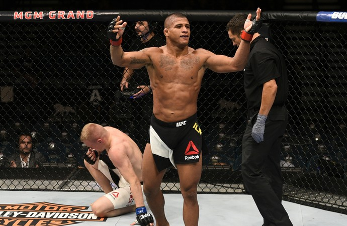 Gilbert Durinho x Lukasz Sajewski UFC (Foto: Getty Images)