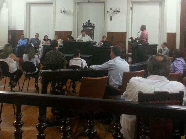 Audiência pública em Juiz de Fora (Foto: Rafael Antunes/G1)