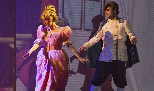 'Cinderela' é um dos espetáculos que estará em cartaz a partir de janeiro (Foto: João Caldas)