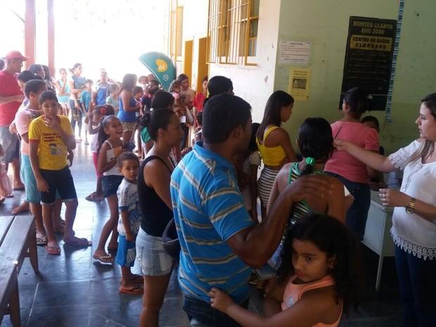 5e74169724 Unidades de saúde ficaram cheias na manhã deste sábado (Foto  Délio  Pinheiro Arquivo