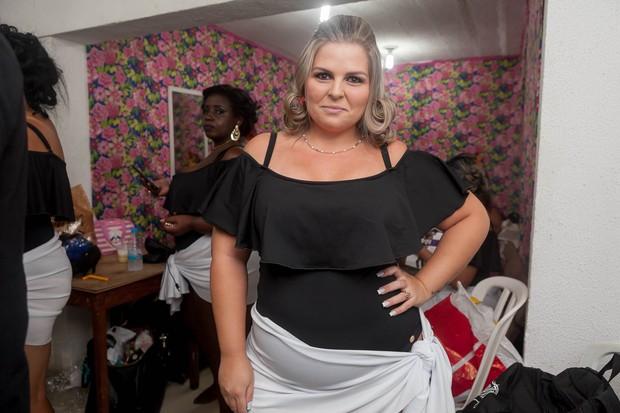 Linthy Magalhães - Mais Bela Gordinha do Rio (Foto: Anderson Barros / Ego)
