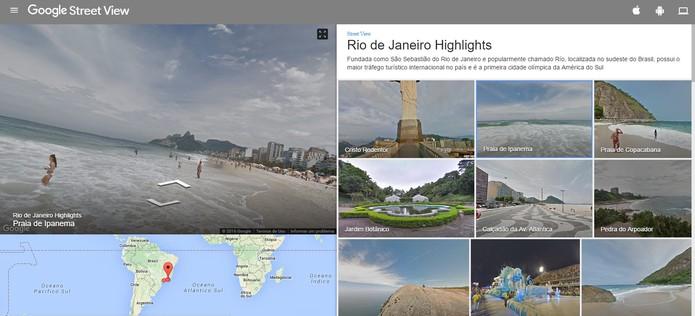Google adiciona locais dos Jogos Olímpicos de 2016 no Rio de Janeiro (Foto: Reprodução/Barbara Mannara)