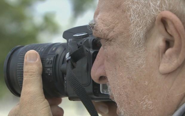 Repórter fotográfico registrou paisagens e desenvolvimento da cidade (Foto: Bom Dia Amazônia)