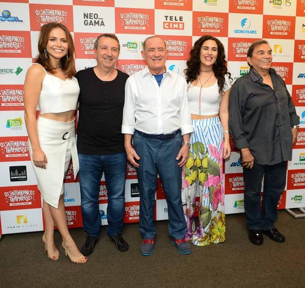 Elenco de Os Saltimbancos Trapalhões faz pré-estreia em SP (Foto: Francisco Cepeda/Agnews)