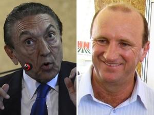 Os ministros Edison Lobão (esq) e Neri Geller (dir) foram convocados pela Comissão de Agricultura (Foto: Agência Brasil e Reprodução)
