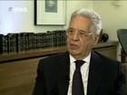 'Dilma não tem vocação para conversa', diz Fernando Henrique