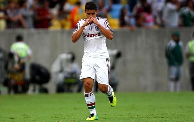Jean fluminense gol são paulo (Foto: Fernando Cazaes / Photocamera)