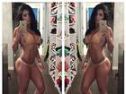 Bella Falconi exibe corpaço e posta mensagem de incentivo